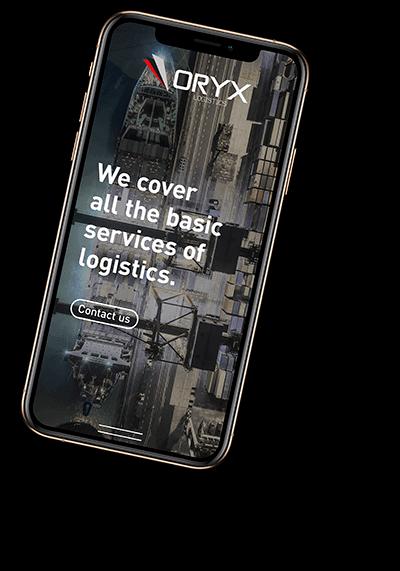 oryx logistics website